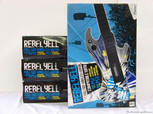 Rebel Yell Full-sized Wireless Guitar for Ps2/ps3 by React [並行輸入品] React