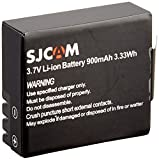 【SJCAM正規品】 SJCAM SJ4000/SJ5000/M10/SJ5000 Plus対応 バッテリーパック 3.7V/900mAh 【国内保証1年】