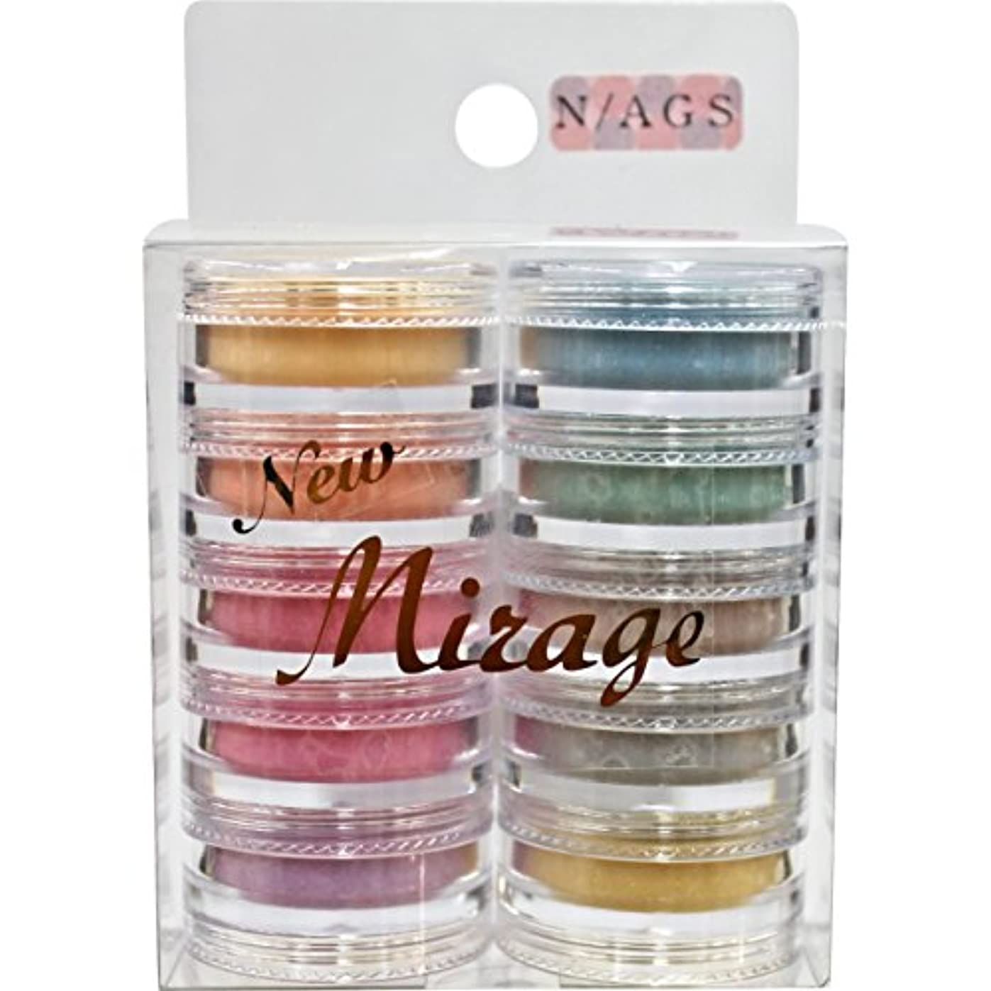 Mirage パウダー10色セット N/AGS 3.5g アクリル材