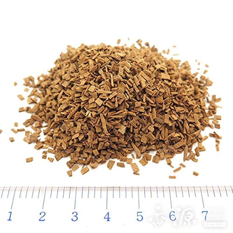 鋼砂灌漑香木/お香原料 インド産 老山白檀 刻 100g