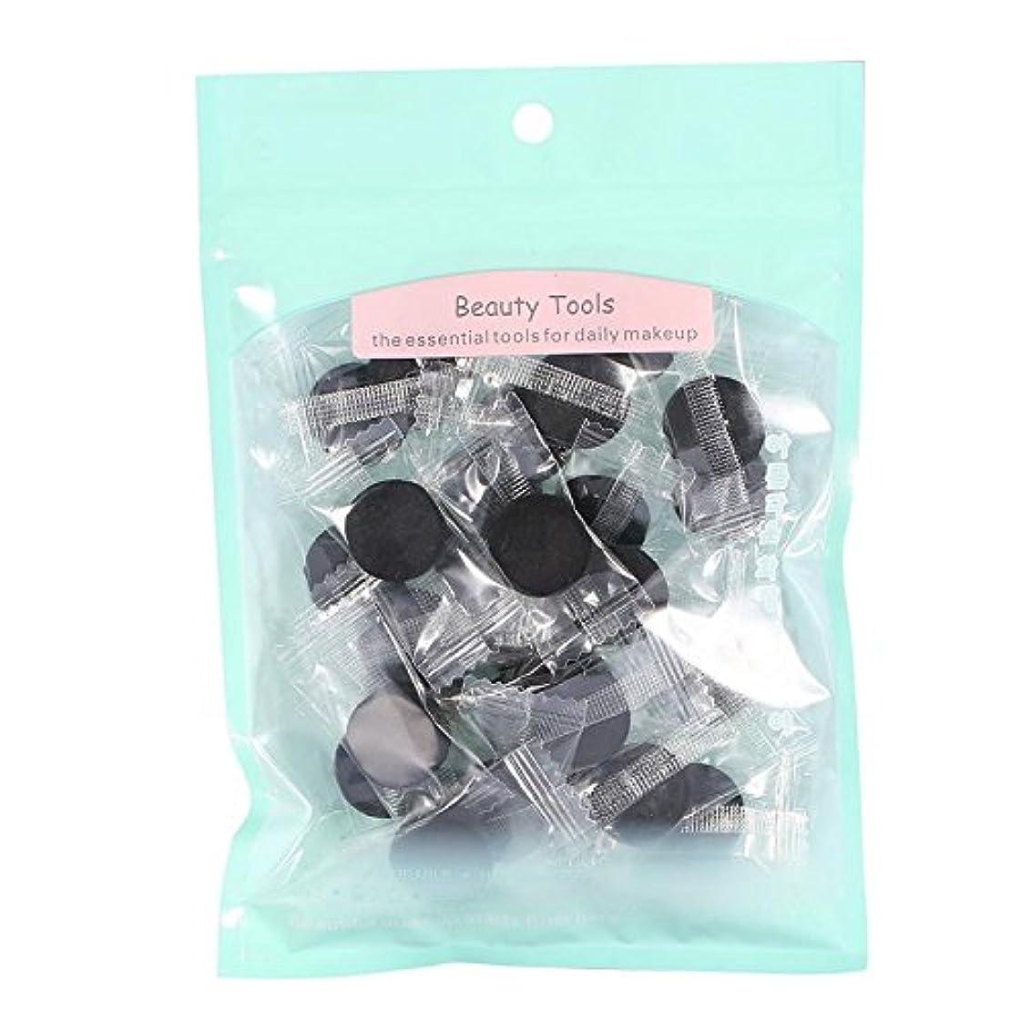 調べるプライバシーピット竹圧縮マスク、30ピース/ 40ピースフェイスナチュラル竹炭繊維フェイスケアdiy圧縮マスク紙シート新しい(30個)