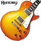 HISTORY ヒストリー レスポール エレキギター【ヘリテイジウッド】【サークルフレッティングシステム】【日本製】 TH-LS LDB