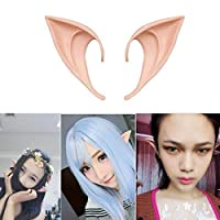 COOLJOY 1 Pair Cosplay Fairy Pixie Elf Ears Accessories Halloween Party Anime Party Costume(Natural Skin Color) [並行輸入品]