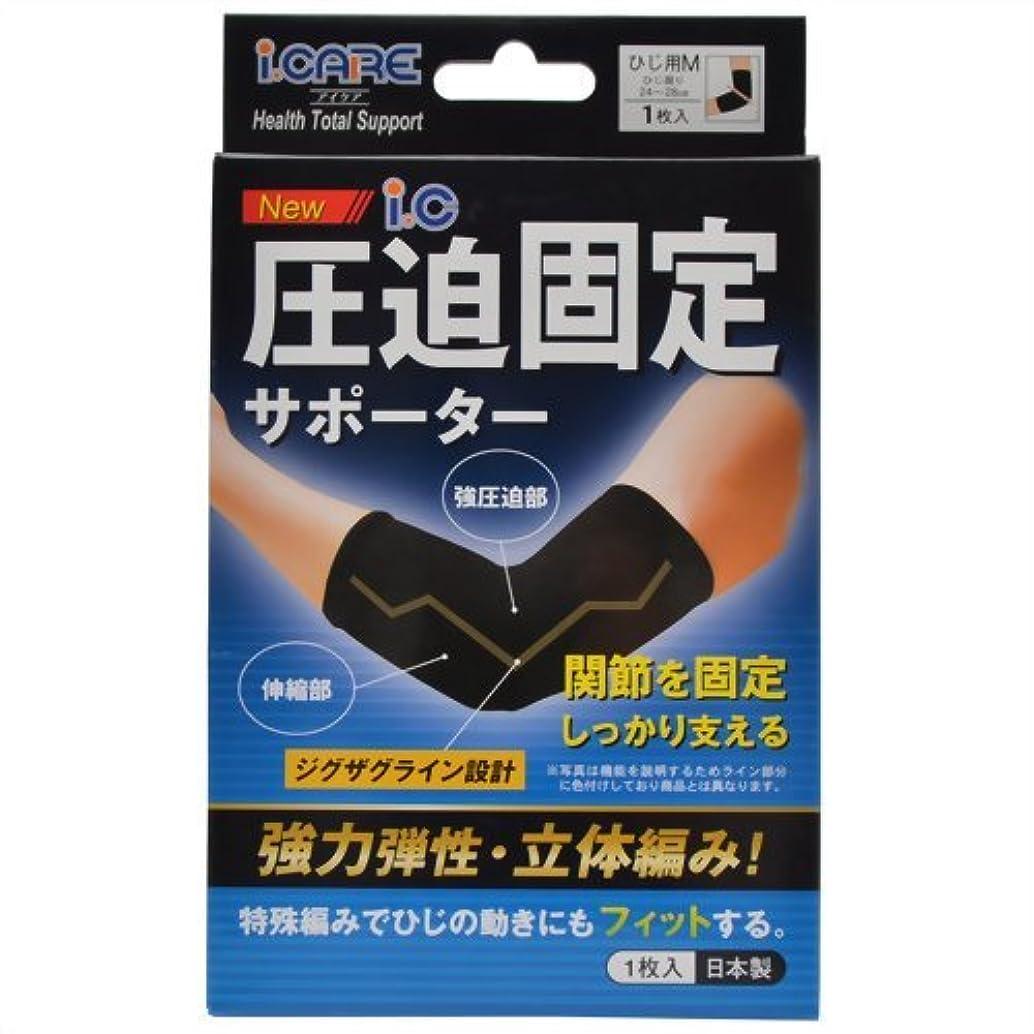 アイケア NEW ic圧迫固定サポーター ひじ用 M