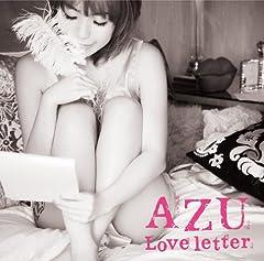 AZU「Stay with me」の歌詞を収録したCDジャケット画像