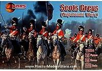 プラスチックモデルFigures Scots Greys Napoleonic Wars 1/ 72Mars Figures 72024