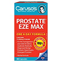 Carusos Natural Health Prostate Eze Max 30 Capsules