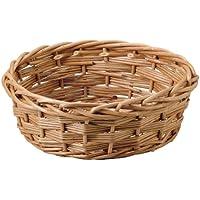 大橋新治商店 ハンドメイド バスケット Willow Basket スティームウイロサークル L 11-573