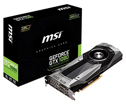 MSI NVIDIA Pascalアーキテクチャー採用 GeForce GTX 1080搭載グラフィックボード GEFORCE GTX 1080 FOUNDERS EDITION