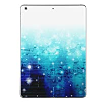 iPad mini4 スキンシール apple アップル アイパッド ミニ A1538 A1550 タブレット tablet シール ステッカー ケース 保護シール 背面 人気 単品 おしゃれ ラグジュアリー 音符 楽譜 006856