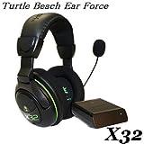【軽量!!】ノイズカットに優れたワイヤレスゲーミングヘッドセット / Xbox360 Turtle Beach Ear Force X32 Wireless Stereo Gaming Headset