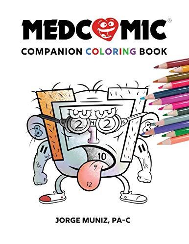 Download Medcomic: Companion Coloring Book 0996651306