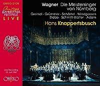 Wagner: Die Meistersinger von Nuernberg by Josef Greindl (2015-10-30)