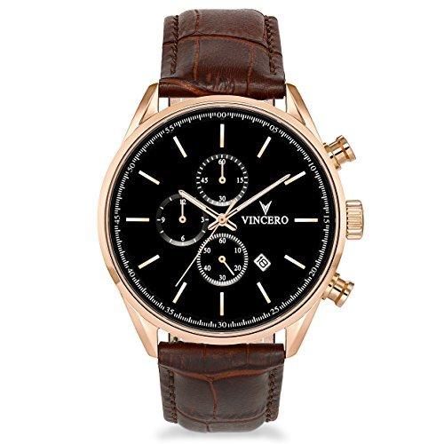(ビンチェロ)Vincero Chrono S メンズ腕時計 ローズゴールド