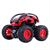 子供の慣性クワッドドライブバギー耐落下2-5歳の男の子スタント車モデル子供のおもちゃの車 Extremely deep red