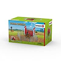Schleich North America Bull Riding with Cowboy Playset [Floral] [並行輸入品]