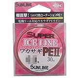 サンライン(SUNLINE) PEライン スーパーアイス ワカサギ II 30m 0.25号