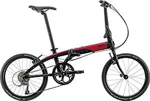 Link N8 20インチ 2016年モデル 折りたたみ自転車 [8speed、日本限定モデル] ブラック/レッド