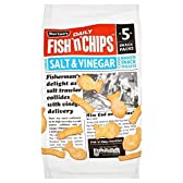 1パックバートンのフィッシュ&チップスマルチパック25グラム×5 - Burton's Fish & Chips Multi pack 25g x 5 per pack [並行輸入品]