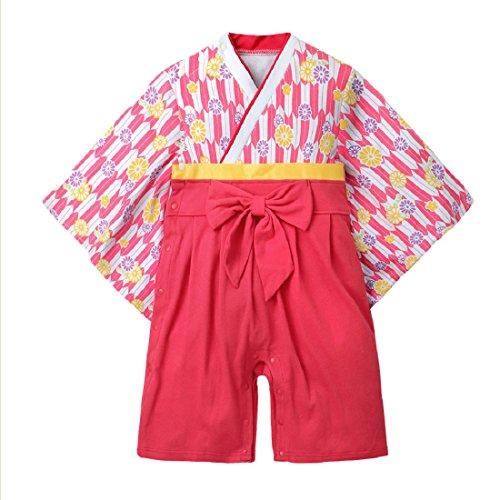 SFGHOUSE ロンパース ベビー和服 カバーオール 浴衣...