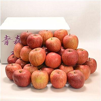 青森産訳ありサンふじ小玉約10kg40個(ツル割れ、枝ズレ傷、変型) (りんごのみ)