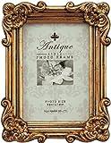 ユ-パワ- Antique Style アンティークスタイルフォトフレーム スクエア/サービス アンティークゴールド AF-00955