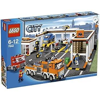 レゴ (LEGO) シティ レゴ (LEGO)の町 自動車修理工場 7642