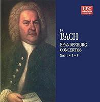 Brandenburg Ctos. 1, 3, & 5 by BACH (1995-01-24)