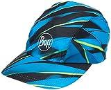 [バフ] ランニング キャップ PRO RUN CAP 体温調整 再帰反射 UVカット 吸水 速乾 [日本正規品] 360953:R-FOCUS BLUE EU 23×25cm (FREE サイズ)
