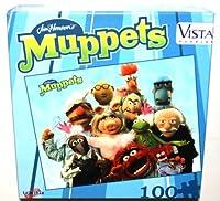 Jim Hensonの–Muppetsファミリ100ピースジグソーパズル、9インチx 12インチ( 1Each )