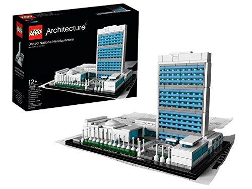 レゴ アーキテクチャー 国連本部 21018