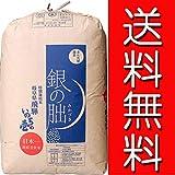 【新米】玄米 2kg 特別栽培米 飛騨 銀の朏(みかづき) レターパックプラス (白米に)