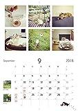もも と みらい 9匹の猫と森のカフェの12ヶ月 カレンダー2018