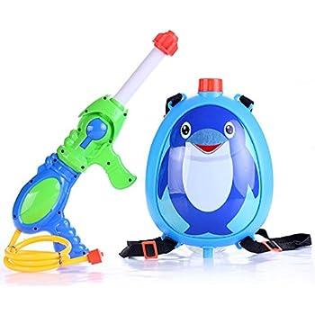kashiwise 水鉄砲 バックパック ウォーターガン おもちゃ (ペンギン)