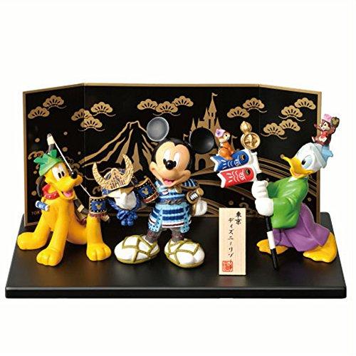 2015 東京 ディズニーリゾート 限定  五月人形 ミッキー&ドナルド&プルート