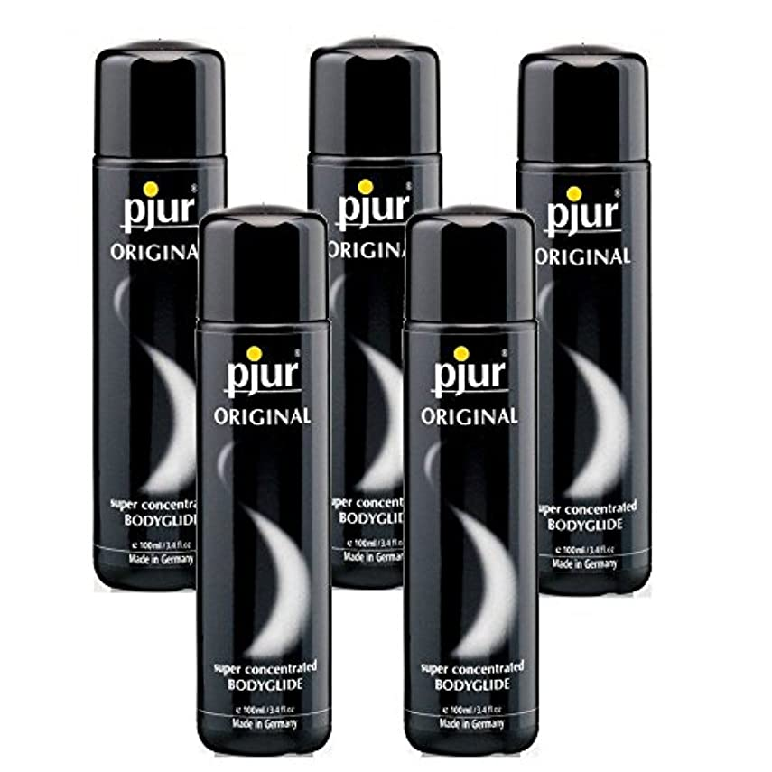ドラマいいね寺院Pjur 5 Pack Bodyglide Lubricant - 100ml