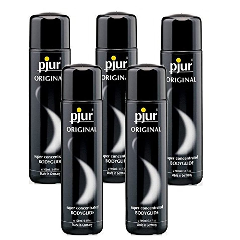 適切にを除く元のPjur 5 Pack Bodyglide Lubricant - 100ml
