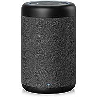 Amazon Echo Dot(Newモデル)用 スピーカードック 5200mAhバッテリー搭載 ポータブル化対応 360°全方向 拡張スピーカー 重低音強化 最大出力20W 専用設計 3.5mm AUX接続 高音質再生 D6