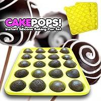 Decora シリコンモールド ケーキポップ/ハードキャンディー/ロリポップ/パーティーカップケーキに ピンク CO030S1P1F