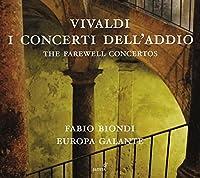Vivaldi: The Farewell Concertos by Fabio Biondi