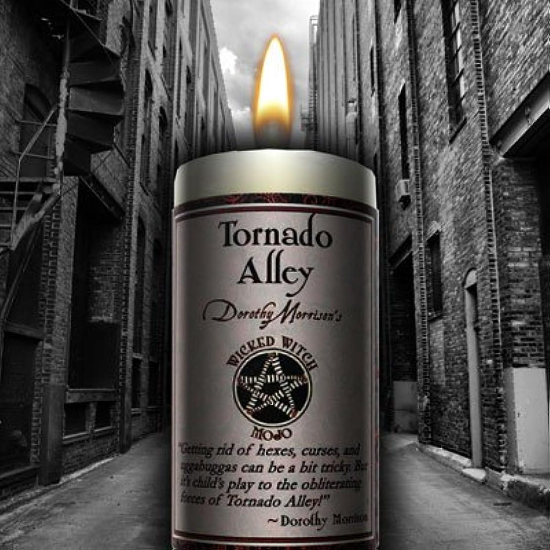 ミネラル侮辱専門Wicked Witch Mojo Tornado Alley Candle by Dorothy Morrison