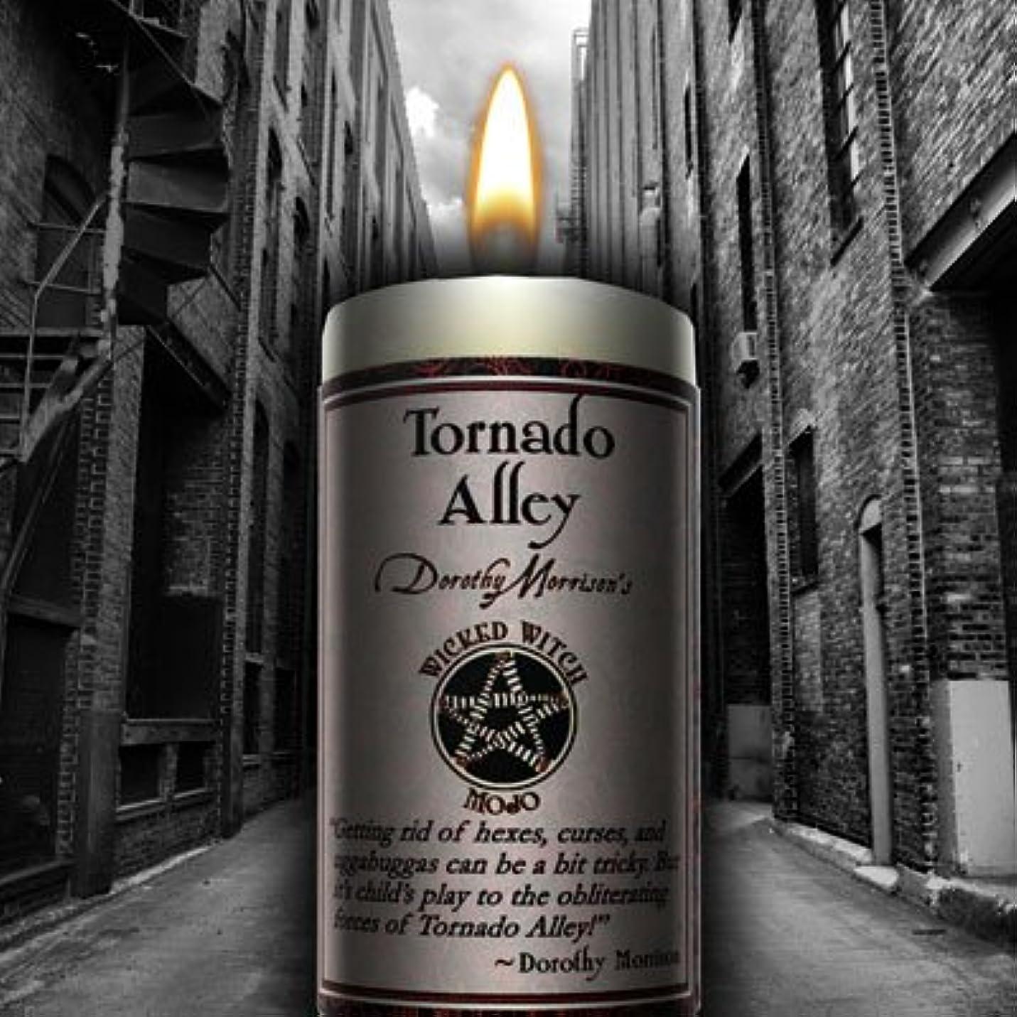 むき出し感情のチームWicked Witch Mojo Tornado Alley Candle by Dorothy Morrison