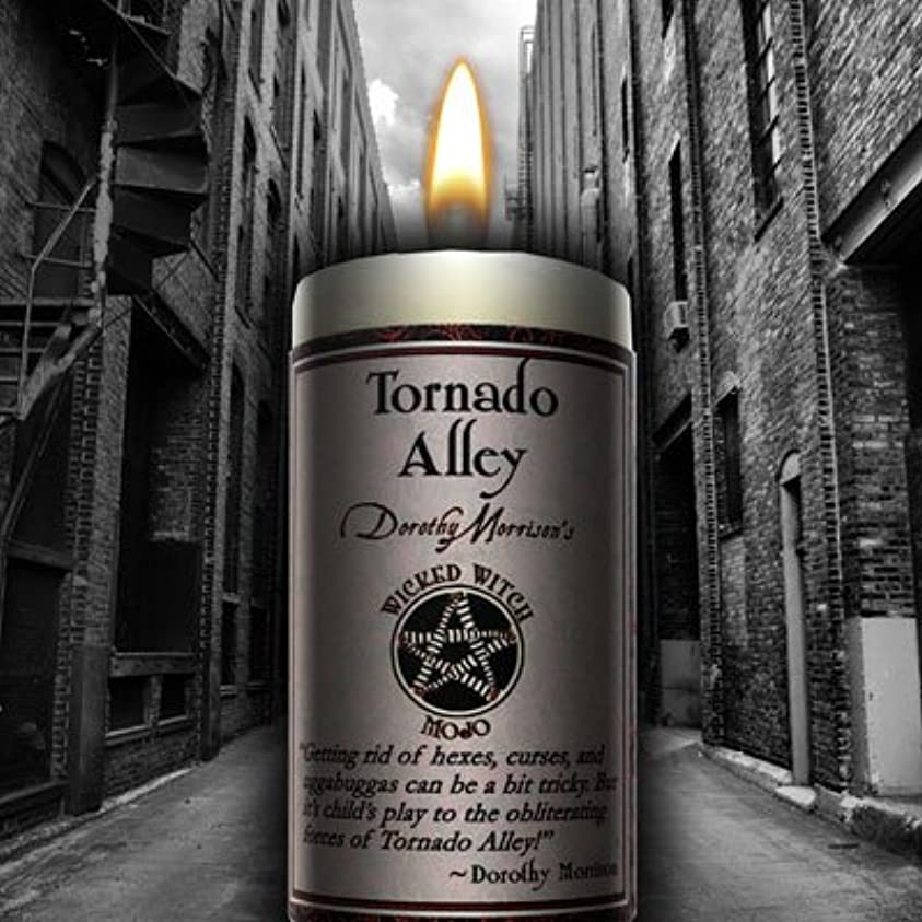 テストお肉傘Wicked Witch Mojo Tornado Alley Candle by Dorothy Morrison