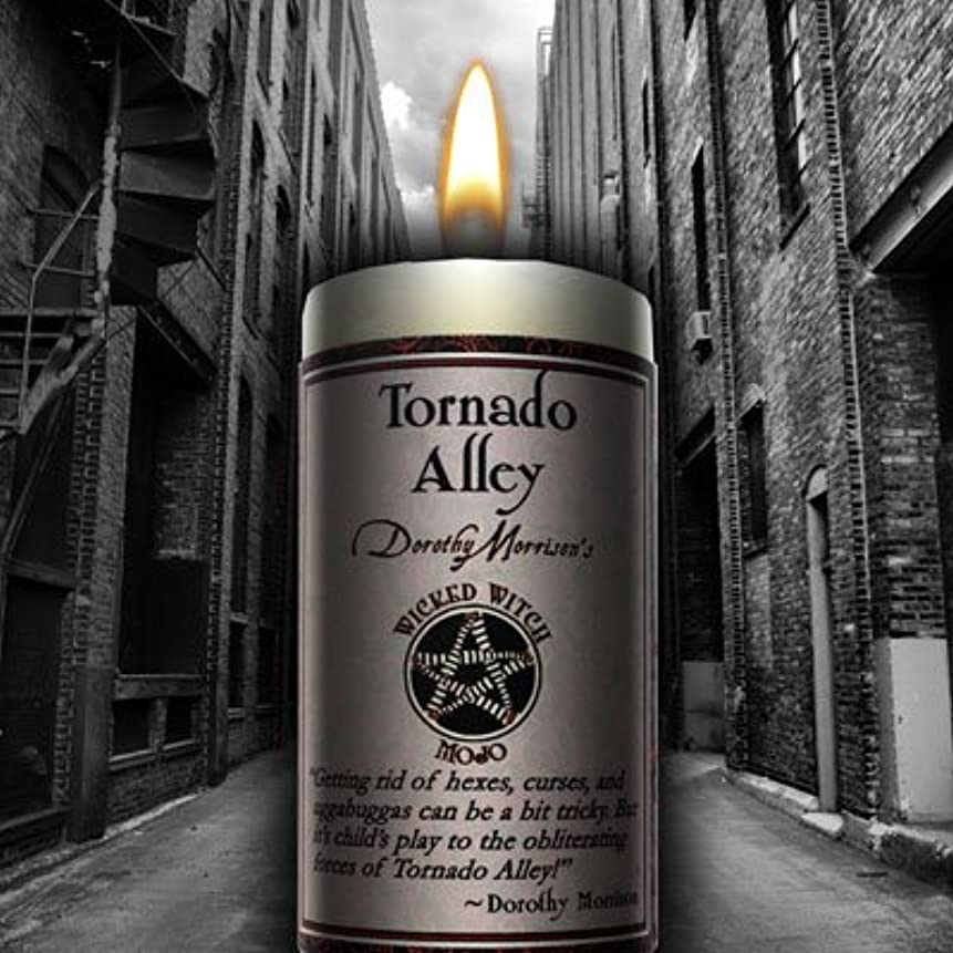 学部反響するとティームWicked Witch Mojo Tornado Alley Candle by Dorothy Morrison
