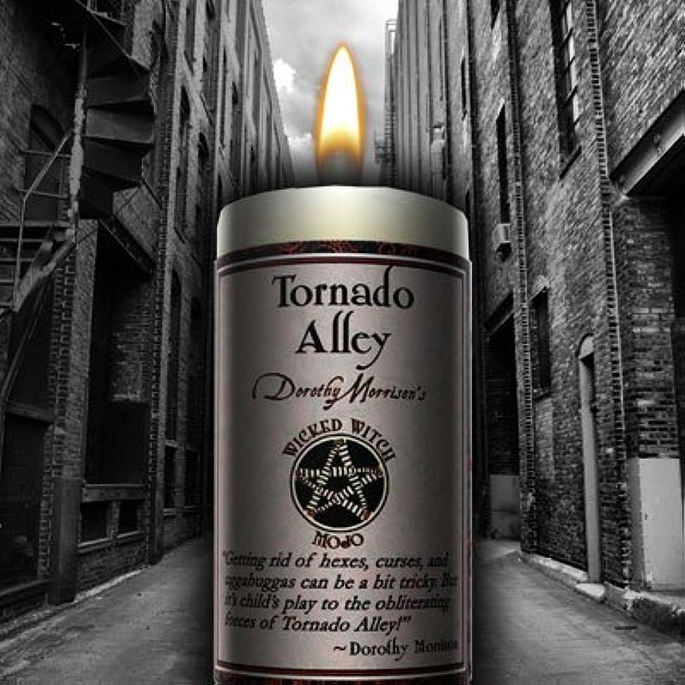 突っ込む上記の頭と肩なしでWicked Witch Mojo Tornado Alley Candle by Dorothy Morrison