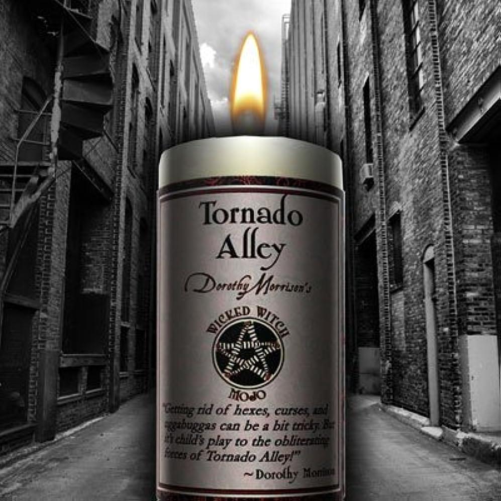 でスクラッチ痛みWicked Witch Mojo Tornado Alley Candle by Dorothy Morrison