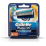 Gillette Fusion ProGlide Cartridges, Pack of 4