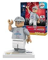 MLBシカゴ・カブスジョー・MaddonワールドシリーズTシャツLimited Editionミニフィギュア、スモール、ホワイト