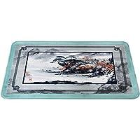 CHENGYI カーペット 中国スタイルのカーペットの風景の絵画の柄のリビングルームバルコニードアマットキッチンバスルームノンスリップフロアマット (サイズ さいず : 50*120cm)