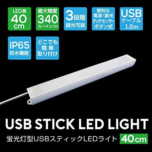◆イミディア◆選べる2サイズの蛍光灯タイプのUSBスティック...